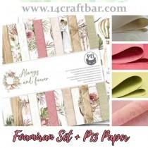 Foamiran Set with P13 Paper...