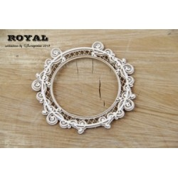 Chipboard - Round Frame