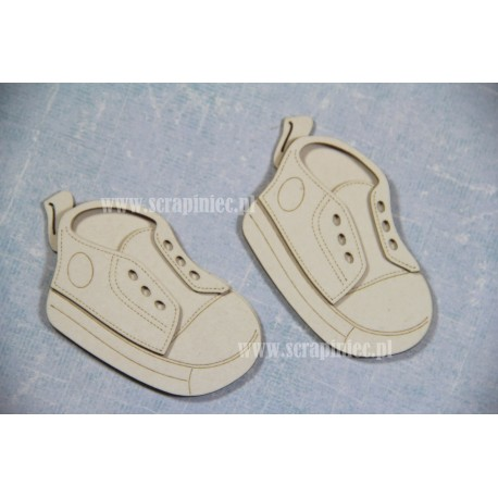 Chipboard - Baby Shoes - multilayer