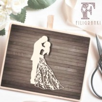 Chipboard - Bride and Groom 04