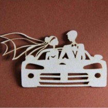Chipboard - Bride and Groom...