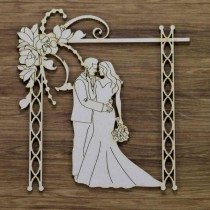 Chipboard - MAGNOLIA WEDDING