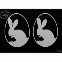 Chipboard - Easter  Rabbit...