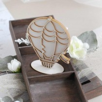 Chipboard 3D - Hot Air Balloon