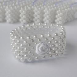 Stretch Pearl Corsage Bracelet