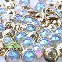 Rhinestone Button - 12 mm - 84