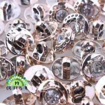 Rhinestone Button - 12 mm - 85