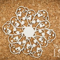 Chipboard -  Rosette lily...