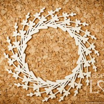 Chipboard - Wreath - Sweet...