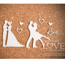 Chipboard - Two couples in...