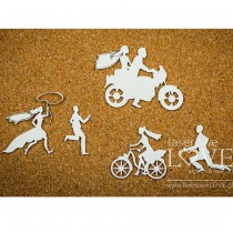 Chipboard - Funny Bride and...