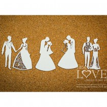 Chipboard - Wedding Couples...