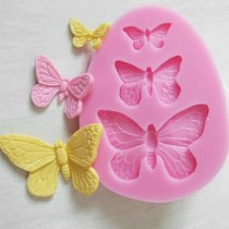 Silicone Mold - Butterflies