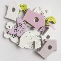 Wooden Embellishments - Big...