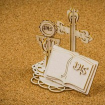 Chipboard 3D-  Holy & White...