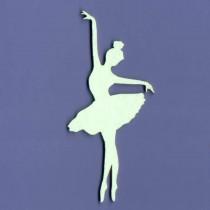Chipboard - Ballerina -...