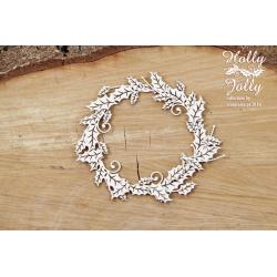 Chipboard - Holly Jolly - small wreath