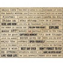 Cardboard Stickers - Die...