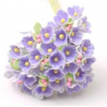 Small Flowers - VIOLET WITH...