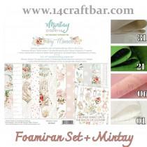 Foamiran Set with Mintay...