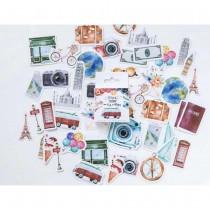 Mini Stickers - TRAVEL - 46pcs