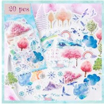 DECO WASHI Stickers - MAGIC...