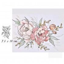 Silicone Stamp - PEONY