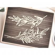 Chipboard - Long twigs