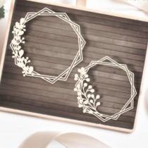 Chipboard - Flora1 frames 2pcs