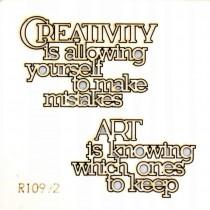 Chipboard - Creativity...