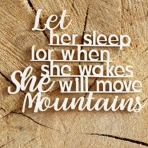 Chipboard - Let her sleep