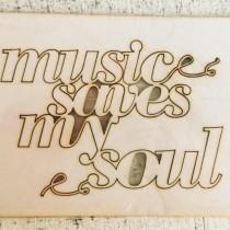 Chipboard - Music saves my...