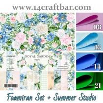 Foamiran Set with Summer...