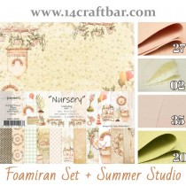 Foamiran Set with Summer...