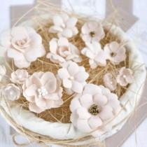 PASTEL FLOWERS - Ivory Mix