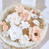 PASTEL FLOWERS - Peach Mix