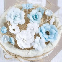 PASTEL FLOWERS - Blue Mix