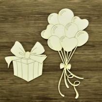 Chipboard  - Balloon...