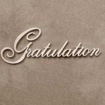 Chipboard  - GRATULATION