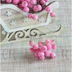 Light Pink Berries - snowy