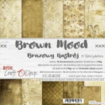 Scrapbooking Paper - BROWN...