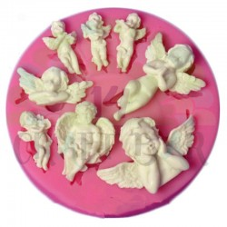 Silicone Mold - Set of Angels/Cherubs