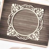Chipboard - BAROQUE FRAME