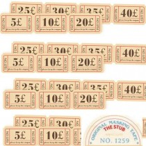 Washi Tape - TICKET STUB -...