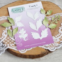 Lady E Design  Dies - Leaves 9