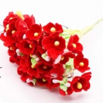 Small Flowers - RED