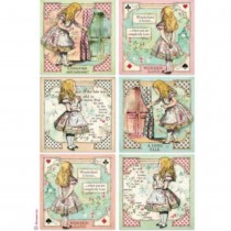 A4 Rice Paper - ALICE IN...