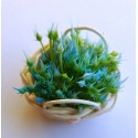 "Mini Stamen ""bush"" - GREEN/BLUE"