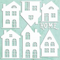 Maxi Chipboard - HOUSES SET...