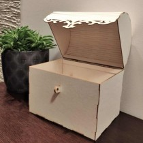 Chipboard 3D - LARGE CHEST...